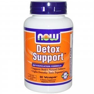 NOOW FOODS, Detox Support, 90kap.