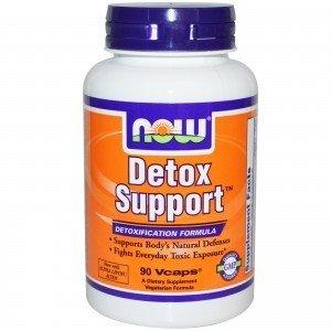 NOOW FOODS, Detox Support, 90kap.