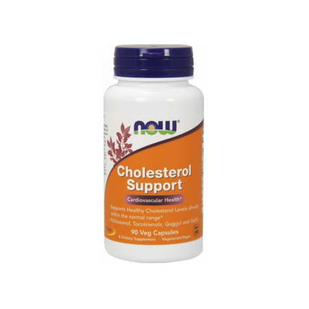 NOW FOODS, Cholesterol Support, 90kap.