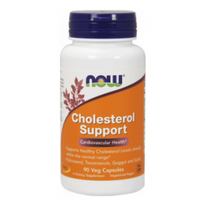 NOOW FOODS, Cholesterol Support, 90kap.
