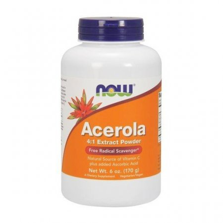 NOW FOODS, Acerola (4:1 Extract Powder) 170g.