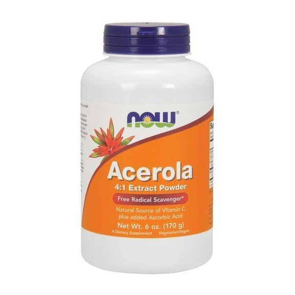NOOW FOODS, Acerola (4:1 Extract Powder) 170g.