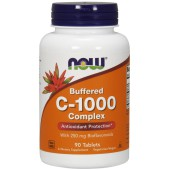NOW FOODS, C-1000 Buffered, 90tabl.