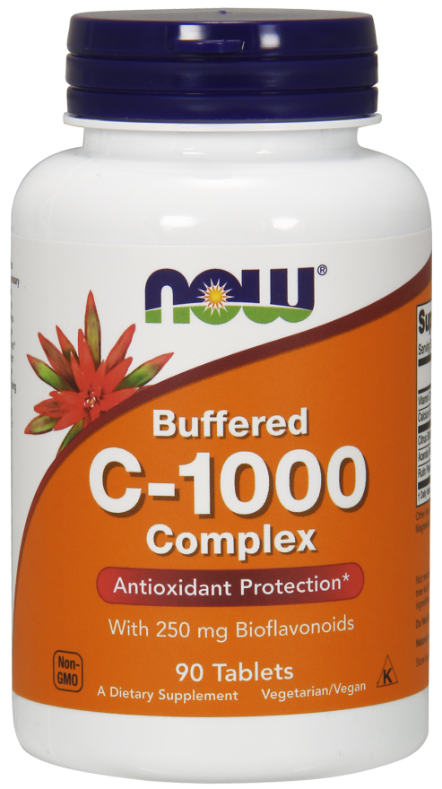 NOOW FOODS, C-1000 Buffered, 90tabl.