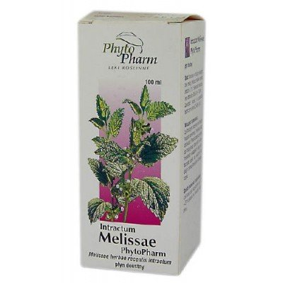 Phyto Pharm, Intractum Melissae (Wyciąg z melisy), 100ml.