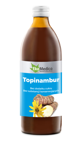 EkaMedica, Sok Topinambur, 500ml.