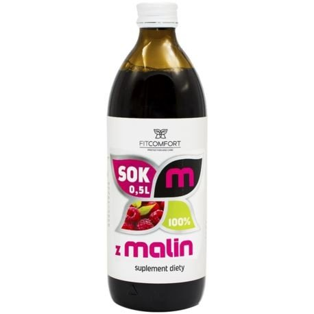Fitcomfort, Sok z Malin, 500ml.