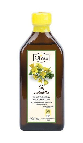 Ol'Vita, Olej z Wiesiołka zimno tłoczony, 250ml
