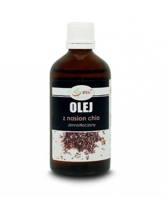 Vivio, Olej z Nasion Chia, rafinowany, 100ml.