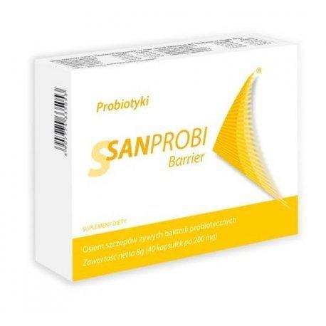 Sanprobi Barrier, 40kap.