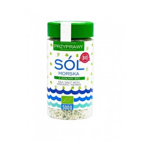 Sól morska ziołowa 500g