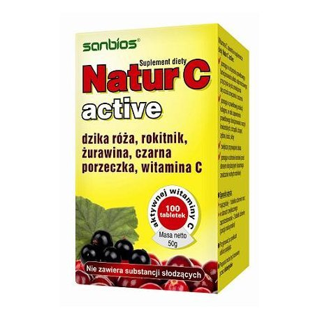 Natur C kaps. 0,325 g 100 kaps.SANBIOS