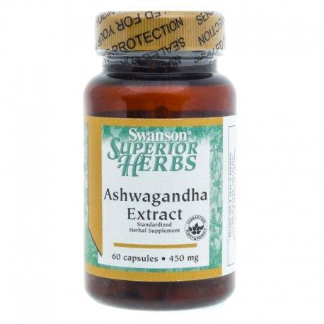 Swanson Ashwagandha ekstrakt 450 mg - 60 kapsułek