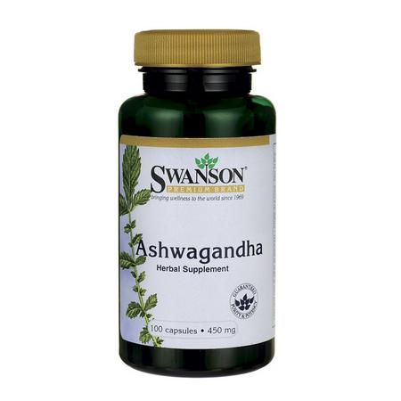 Swanson Ashwagandha 450mg 100 kapsułek