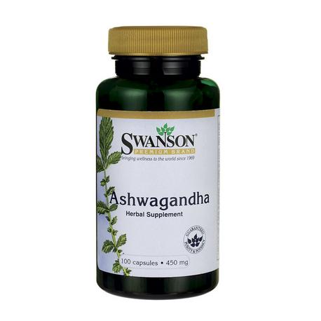 Swanson Ashwagandha 100 kapsułek