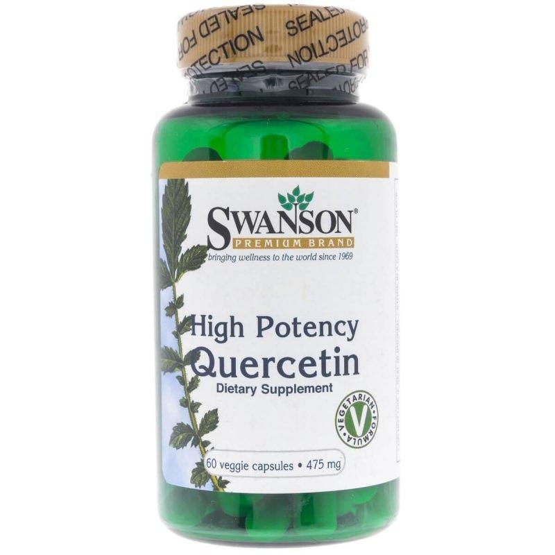 Swanson Kwercetyna (Quercetin) 475 mg - 60 kapsułek