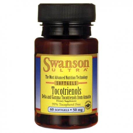 SWANSON TOKOTRIENOLE 50MG - 60 KAPS. (witamina E)