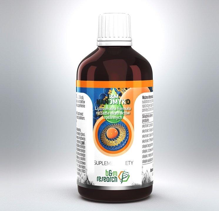 B&M NANOMYKO- liposomalna formuła ziołowa fitoterapeuty Jana Oruby