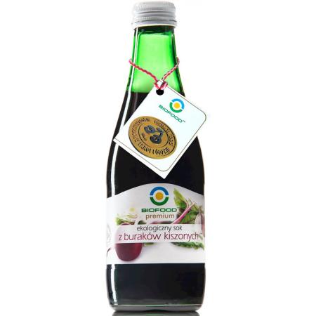 BIO FOOD 300ml Ekologiczny sok z buraków kiszonych Bio