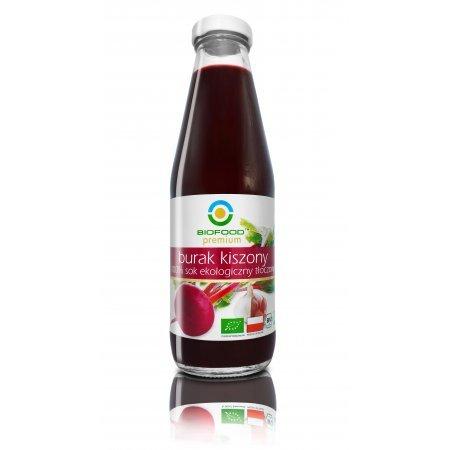 BIO FOOD 500ml Ekologiczny sok z buraków kiszonych Bio DUZY