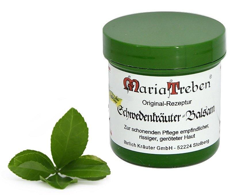 Zioła szwedzkie - balsam, maść - oryginalna receptura Marii Treben