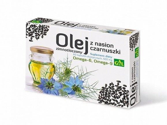 GAL Olej z nasion czarnuszki 60 kapsułek