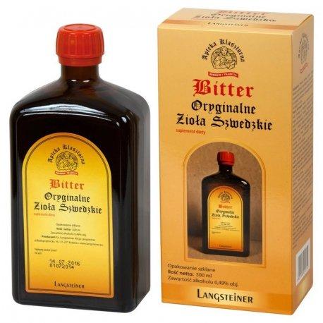 Bitter Oryginalne Zioła Szwedzkie 500 ML