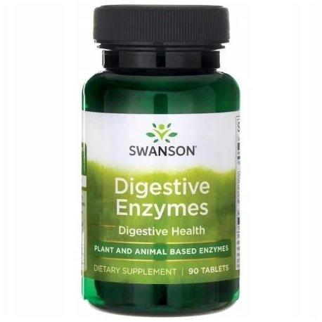 SWANSON Digestive Enzymes (trzustka, niestrawność) 90 tabl.