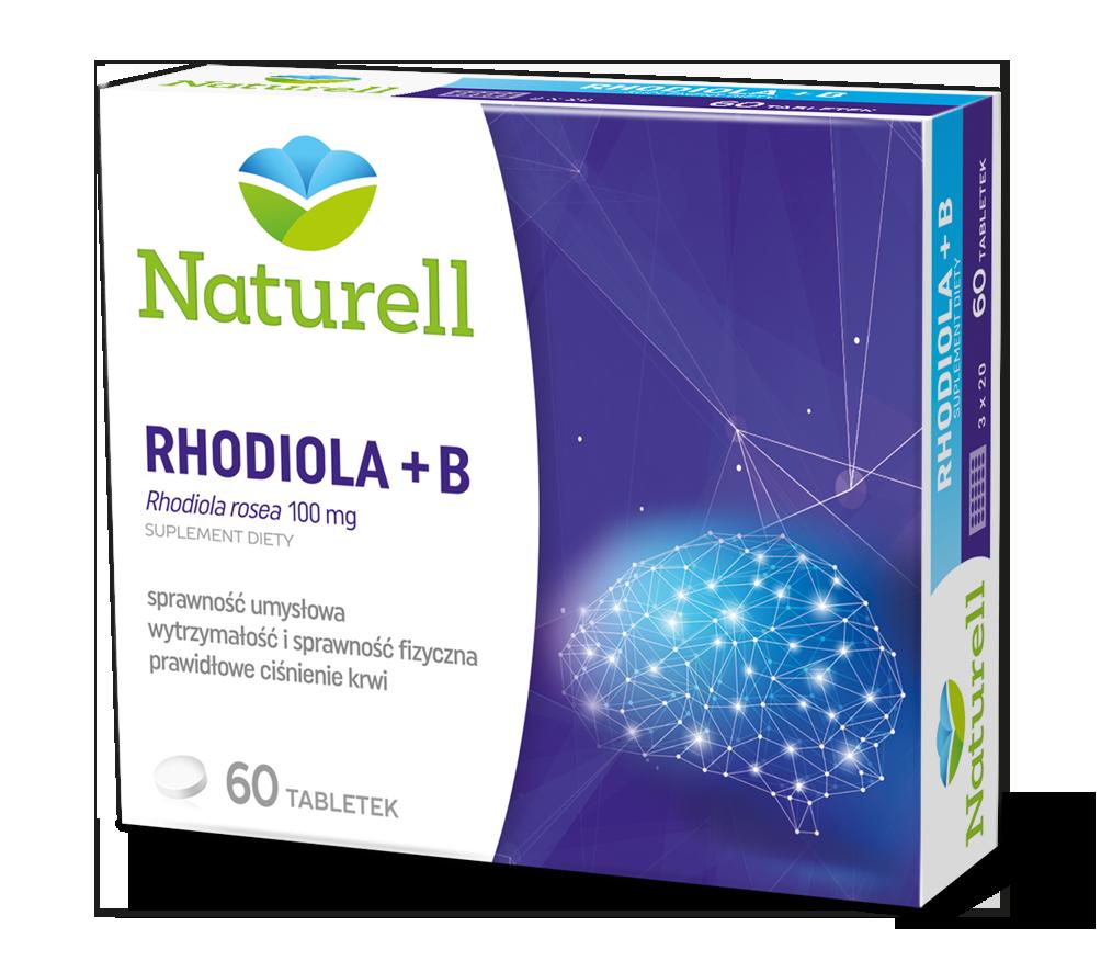 RHODIOLA, 60 TABLETEK
