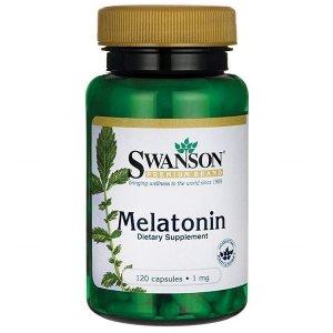 SWANSON, Melatonina 1mg, 120 kapsułek
