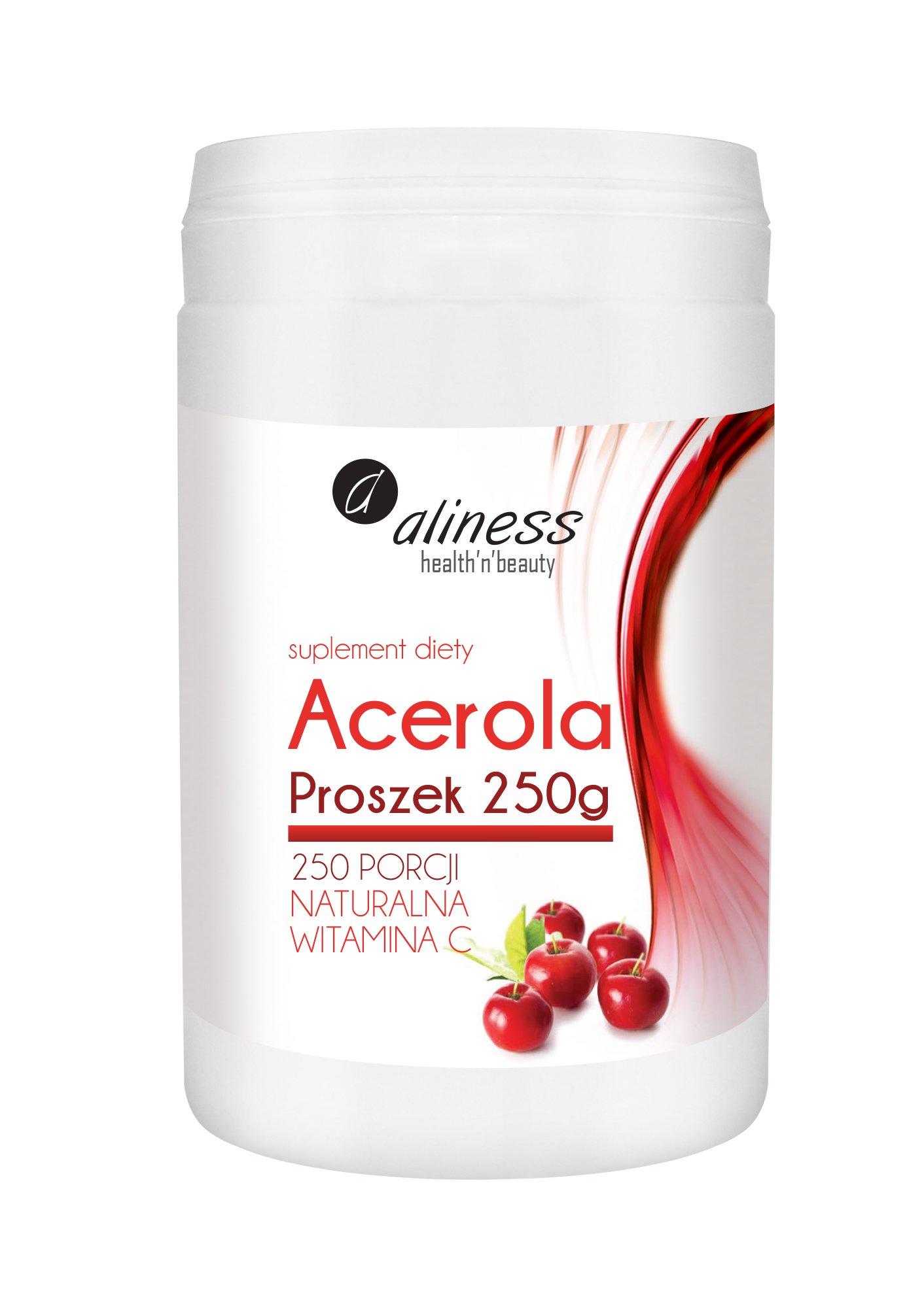 Aliness Acerola Proszek 250 g- naturalna witamina C