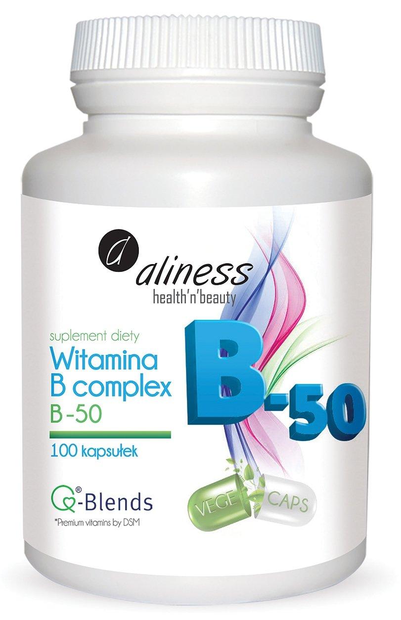 Aliness Witamina B complex B-50 100 kaps.