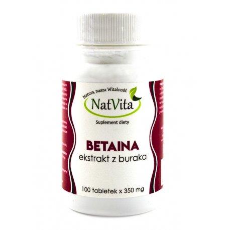 NatVita Betaina 350mg 100tab