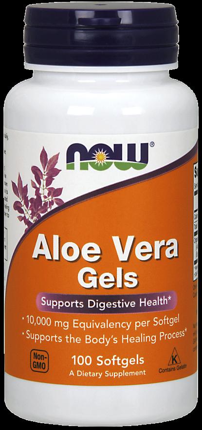 Now Foods Aloe vera gels 100kaps.