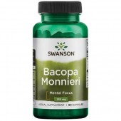 Swanson Bacopa Monniera BaCognize Extract 250 mg 90 kapsułek