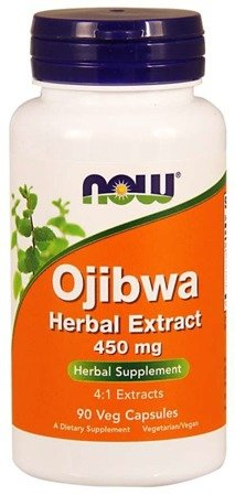 Now Foods Ojibwa Herbal Extract, 450mg - 90 kaps.