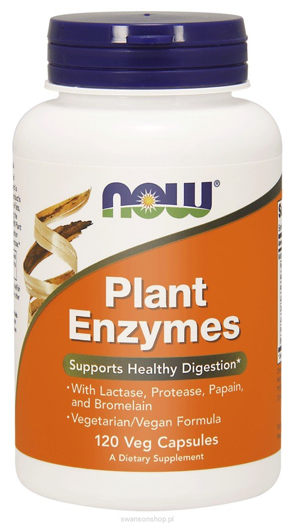 NOW FOODS Plant Enzymes 120 szt.