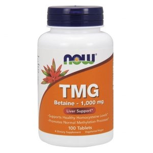 Now Foods TMG 1000mg 100 tabl.