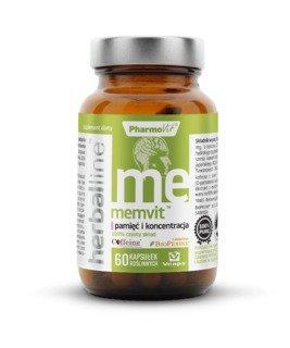 Pharmovit Memvit pamięć i koncentracja 60kaps.