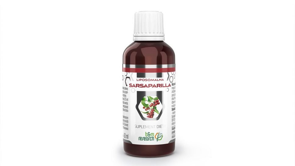 B&M SARSAPARILLA – liposomalny ekstrakt ziołowy
