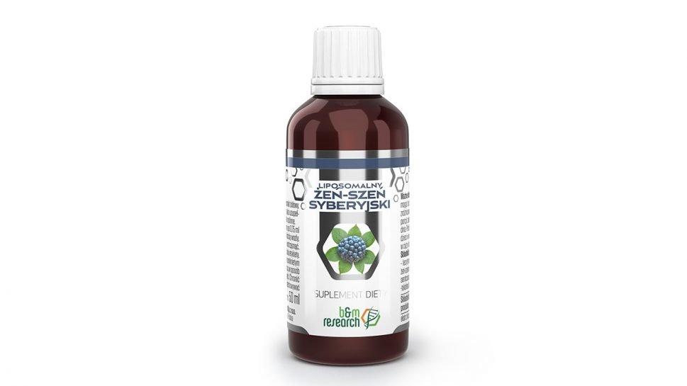 B&M ŻEŃ-SZEŃ SYBERYJSKI – liposomalny ekstrakt ziołowy