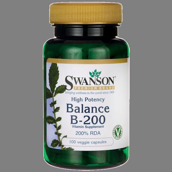 SWANSON Balance B-200 - 100 kaps.