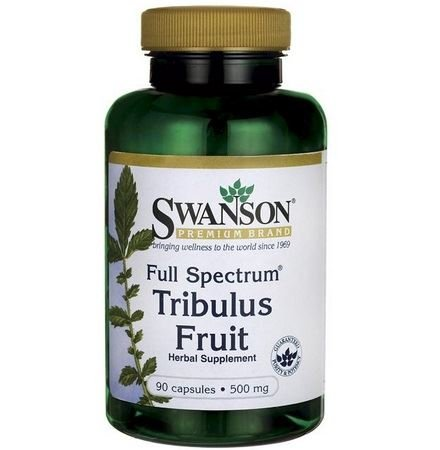 SWANSON Full Spectrum Tribulus 500mg Fruit 90 kaps.