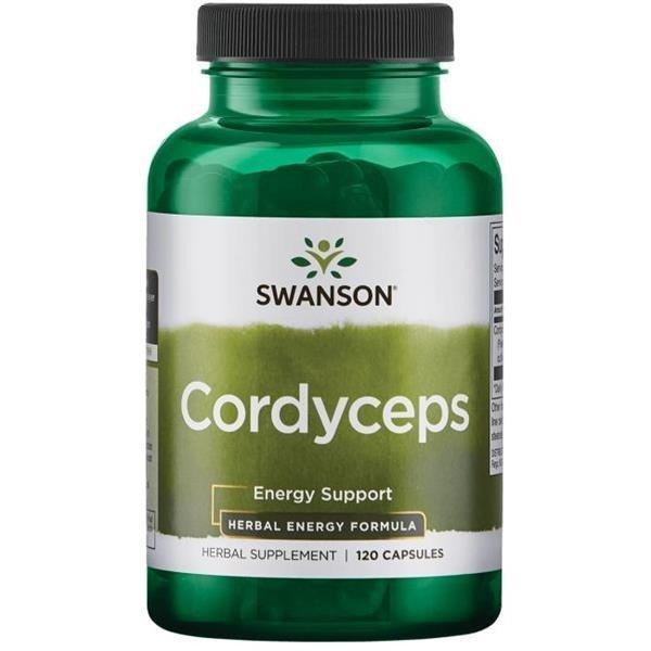 SWANSON Cordyceps 600 mg 120 kapsułek