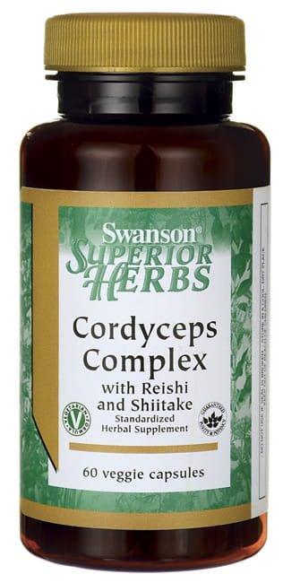 SWANSON Cordyceps complex - 60 kapsułek