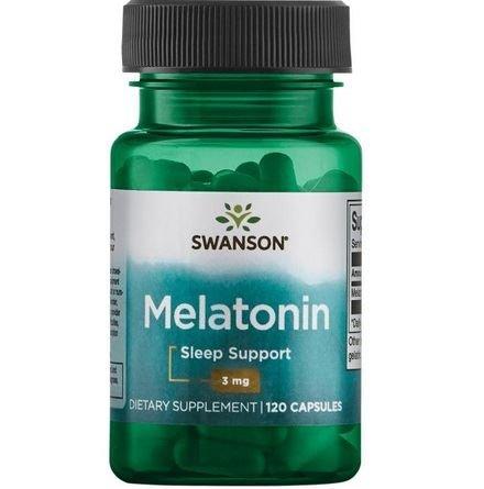 SWANSON Melatonina 3mg, 120 kapsułek