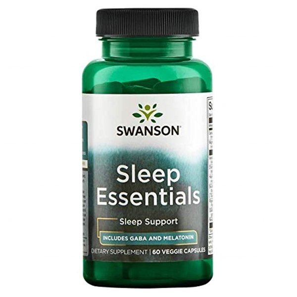 SWANSON Sleep Essentials 60 kapsułek