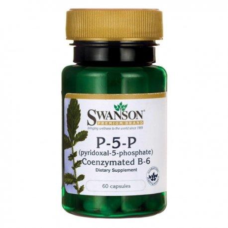 SWANSON Witamina B6 P-5-P 20mg, 60 kapsułek