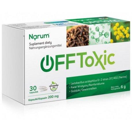 Narine Narum Offtoxic 200mg 30 Kapsułek
