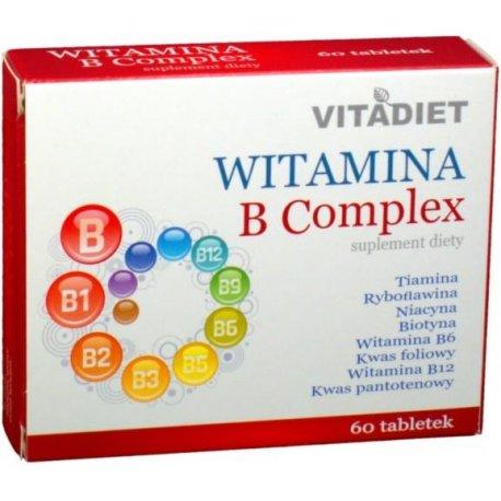 Witamina B Complex, tabletki, 60 szt.